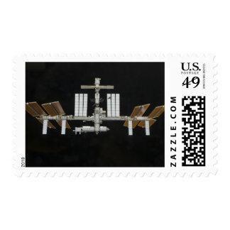 International Space Station 3 Postage Stamp