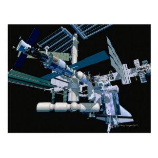 International Space Station 3 Postcard