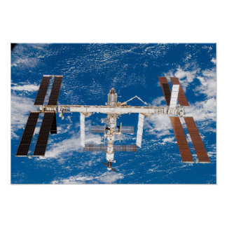 International Space Station 3 Poster