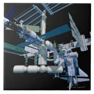 International Space Station 3 Tile