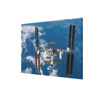 International Space Station 4 Canvas Print