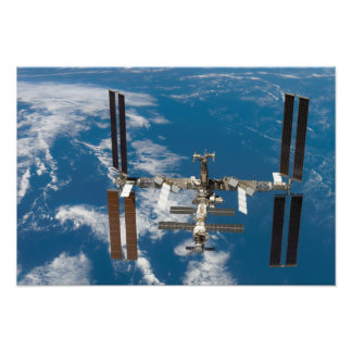 International Space Station 4 Photo Print