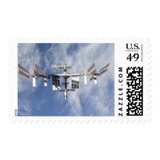 International Space Station 4 Postage