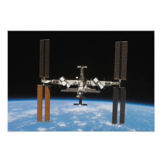 International Space Station 5 Photo Print