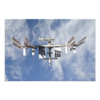 International Space Station 6 Photo Print