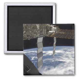 International Space Station 7 2 Inch Square Magnet