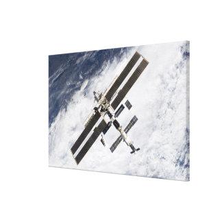 International Space Station 7 Canvas Print
