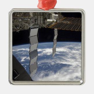 International Space Station 7 Metal Ornament