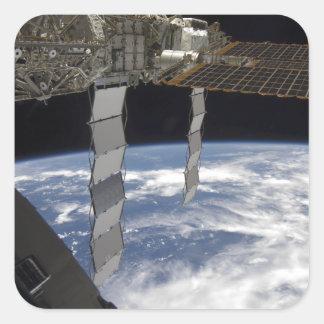 International Space Station 7 Square Sticker