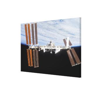 International Space Station 8 Canvas Print