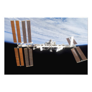 International Space Station 8 Photo Print