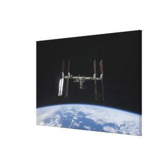 International Space Station 9 Canvas Print