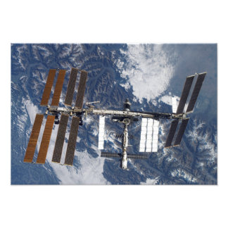 International Space Station 9 Photo Print