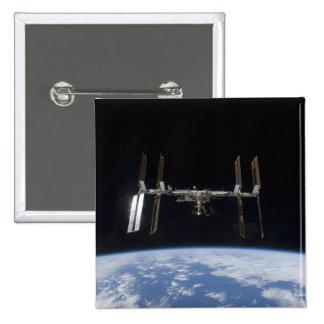 International Space Station 9 Pinback Button