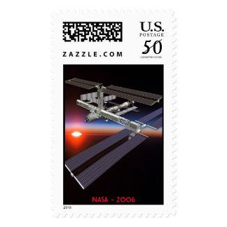 International Space Station - August 2006 Postage