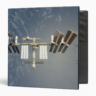 International Space Station backdropped 3 Ring Binders