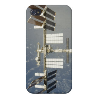International Space Station backdropped iPhone 4 Covers