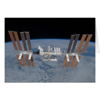 International space station card