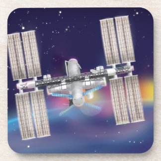 International Space Station Coaster