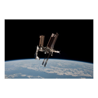 International Space Station Cupola Posters