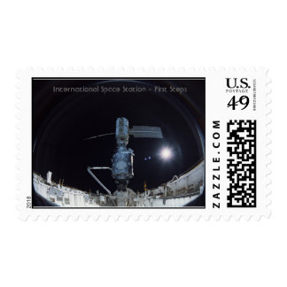 International Space Station - First steps Postage