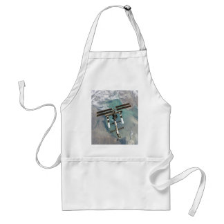 International Space Station higher point and view Adult Apron
