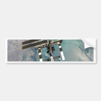 International Space Station higher point and view Bumper Sticker