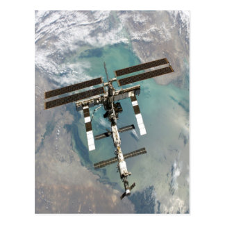 International Space Station higher point and view Postcard