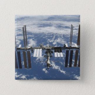 International Space Station in orbit 2 Pinback Button