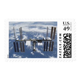 International Space Station in orbit 2 Postage Stamp