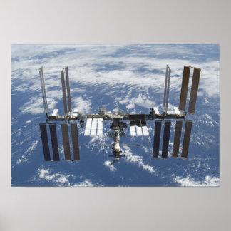 International Space Station in orbit 2 Poster