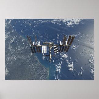 International Space Station in orbit 3 Poster