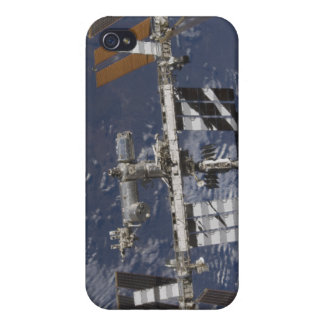 International Space Station in orbit iPhone 4 Cases