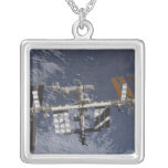 International Space Station in orbit Necklaces