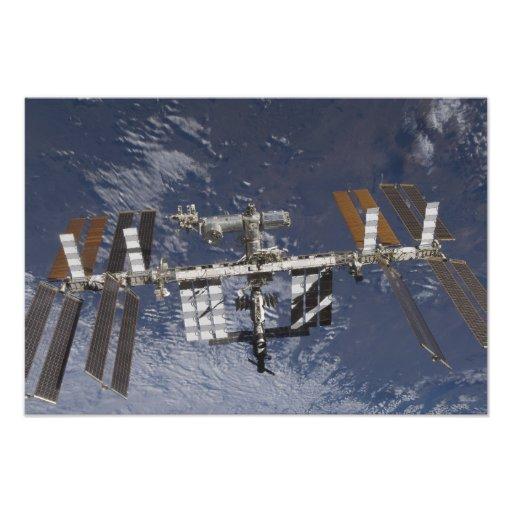 International Space Station in orbit Photographic Print