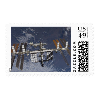 International Space Station in orbit Postage Stamp
