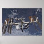 International Space Station in orbit Print