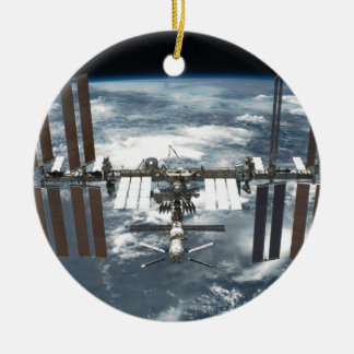 International Space Station ISS, Endeavour 2011 Ceramic Ornament