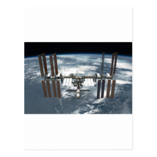 International Space Station ISS, Endeavour 2011 Postcard