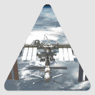 International Space Station ISS, Endeavour 2011 Triangle Sticker