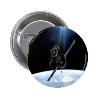 international space station iss nasa aerospace buttons