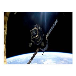 international space station iss nasa aerospace postcard