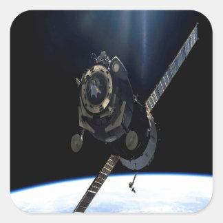 international space station iss nasa aerospace square sticker