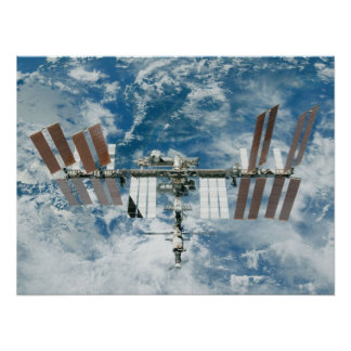 International Space Station (ISS) Poster