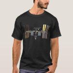 International Space Station masked T-Shirt