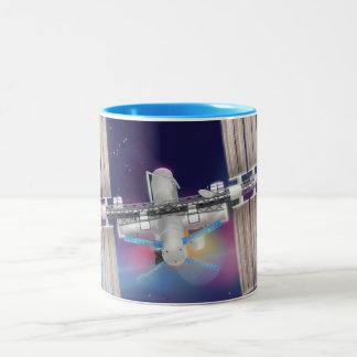 International Space Station Two-Tone Coffee Mug