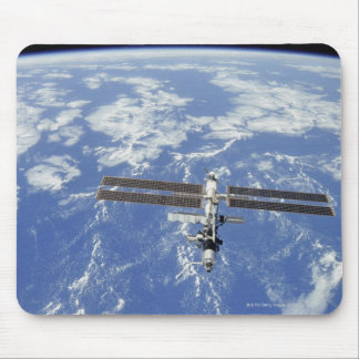 International Space Station orbiting Earth Mousepad