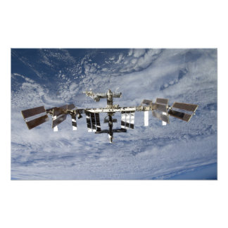 International Space Station Photo Print