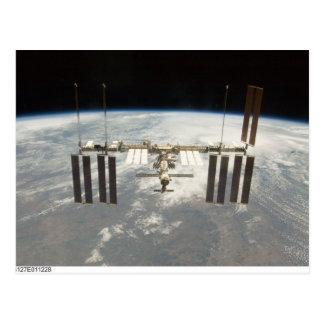 International Space Station Postcard