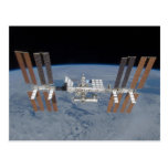 International space station postcard